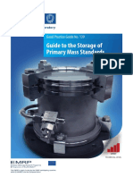 Guide to the Storage of Primary Mass Standards