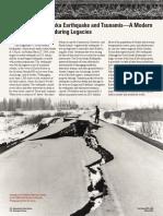 1964 Tsunami Fact Sheet