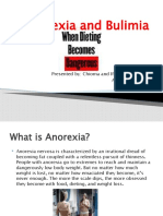 Anorexia and Bulimia 2