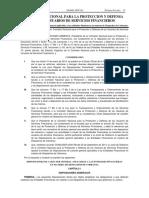 Comision Nacional Para La Proteccion y Defensa de Los Usuarios de Servicios Financieros