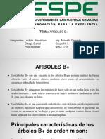 Arboles B+ Presentacion