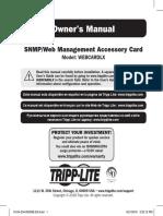 Tripp Lite Owners Manual 753340