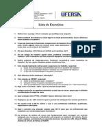 Lista de Exercícios Uni1