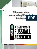 DFB Mc Donalds Fussballabzeichen