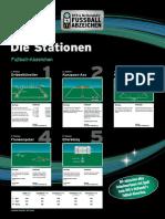 DFB Fußballabzeichen Plakat Stationen