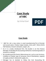 Solution of Case Studies