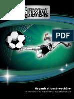 DFB Fußballabzeichen Broschuere Abnahmetag