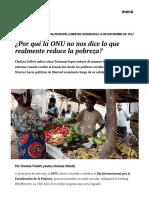 ¿Por Qué La ONU No Nos Dice Lo Que Realmente Reduce La Pobreza_ _ Elcato