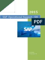 SAP Supp Operational SM