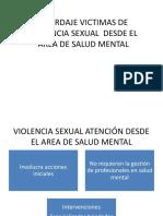 Abordaje victimas violencia sexual-salud mental