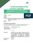 Policloruro PVC