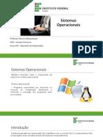 Aula Sistemas Operacionais