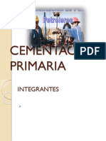 Cementacion Primaria. Expo