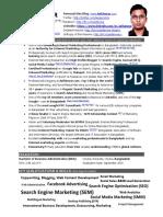Portfolio & Resume of Asif Anwar - Digital Marketing Specialist & Consultant in Bangladesh - SEO, SEM, PPC, SMO, SMM