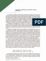 MELO-JUNIOR, (1993). Gênese Da Mineralização Aurífera de Jacobina, Bahia_Uma Hipótese Alternativa