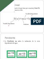 Presentacion Funcion Lineal Final