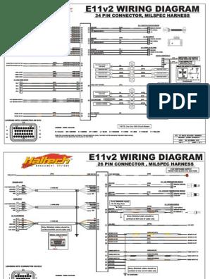 e11v2-milspec | Ignition System | Fuel Injection on