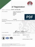 1. Certificado BSI FM 35435 2013