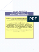 Plantilla Para Plan de Marketing
