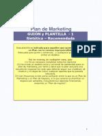 Plantilla Para Plan de Marketing