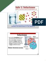 1 Soluciones  químicas