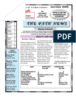 2006 July - August Path of Citrus County Newsletter
