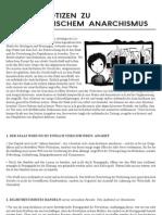 Einige Notizen zu aufständischem Anarchismus