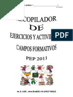 RECOPILADOR 3er Grado ANITA Campos Formativos
