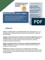 Informacion Diplomado Educacion Positiva 2018