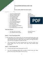 Minit Mesyuarat AJK PIBG Kali Pertama 2014