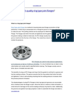 How to Get High Quality Ring Type Joint Flanges