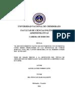 El Reconocimiento Tácito de Documentos y Su Incidencia