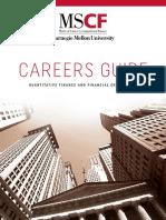 2018 MSCF Careers Guide