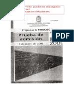 II 08 Examen de Admision