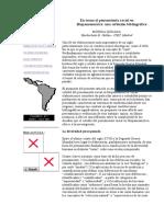 Quijada Mónica _ en Torno Al Pensamiento Racial en Hispanoamérica-una Reflexión Bibliográfica