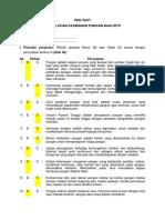Soal Pre Test PKP -IRTP