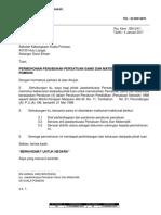 Surat Permohonan Penubuhan Pengakap