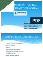 BUMRUNGRAD'S HOSPITAL 2000 INFORMATION SYSTEM