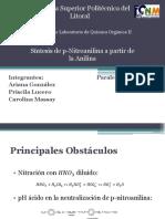 Diapositivas Avance de Proyecto Laboratorio Quimica Organica II