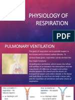 Physiology of Respiration