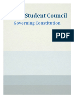 HUCM Student Council Constitution 01.23.17