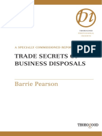 TRADE SECRETS OF BUSINESS DISPOSALS