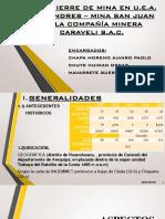 Diapositivas de Plan de Cierre de Minas - Caravelí