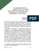 La Secularización de La Enseñanza_Rosalina RZ