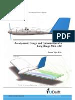 Aerodynamic Design and Optimization of LR MUAV