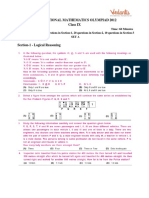 IMO 9th 1st level papers