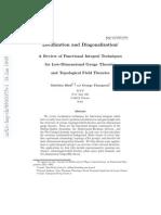 Localization and Diagonalization