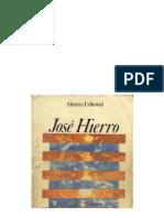 Hierro, José - Antología poética