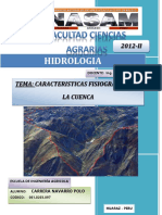 Indice y Caratula Delimitacion Del Rio Mosna Parte Alta
