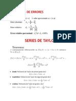 Unidad 1 - Errores Numericos y Propagacián